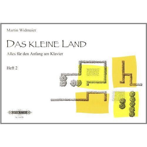 Martin Widmaier - Das kleine Land, Heft 2: Lehrwerk für den Anfang am Klavier - Preis vom 14.04.2021 04:53:30 h