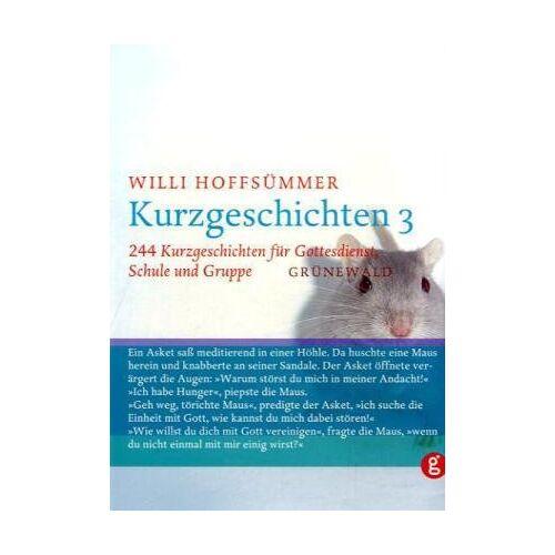 Willi Hoffsümmer - Kurzgeschichten, Bd.3, 244 Kurzgeschichten für Gottesdienst, Schule und Gruppe - Preis vom 06.05.2021 04:54:26 h