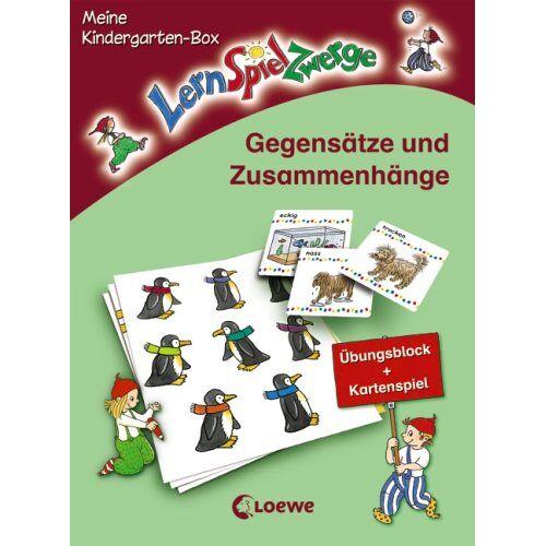- Gegensätze und Zusammenhänge: Meine LernSpielZwerge-Kindergarten-Box - Preis vom 28.11.2020 05:57:09 h