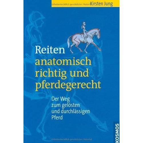 Kirsten Jung - Reiten - anatomisch richtig und pferdegerecht: Der Weg zum gelösten und durchlässigen Pferd - Preis vom 21.10.2020 04:49:09 h