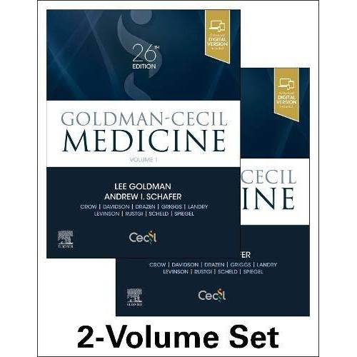 Lee Goldman MD - Goldman-Cecil Medicine, 2-Volume Set (Cecil Textbook of Medicine) - Preis vom 25.02.2020 06:03:23 h