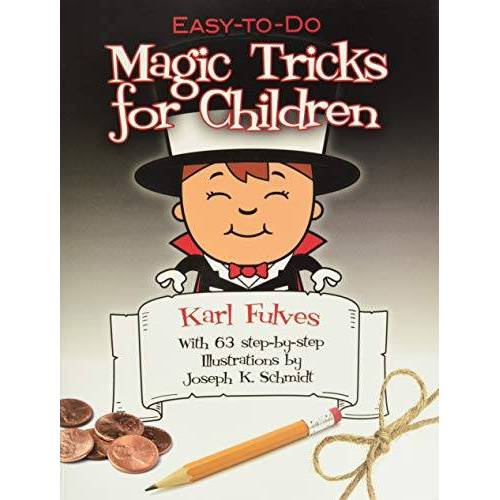 Karl Fulves - Easy-To-Do Magic Tricks for Children (Dover Books on Magic, Games and Puzzles) - Preis vom 01.03.2021 06:00:22 h