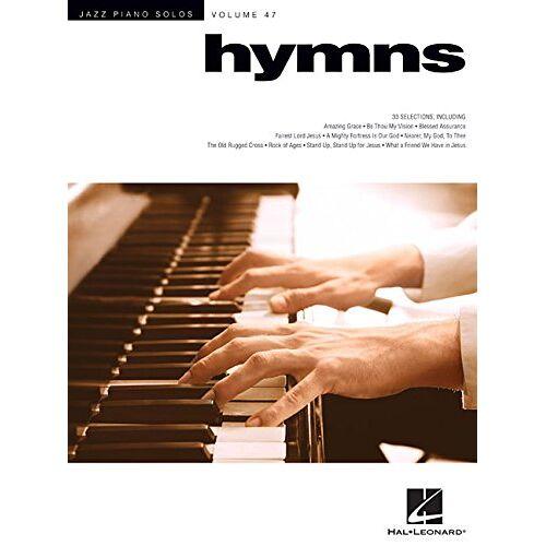 Hal Leonard Corp - Jazz Piano Solos Volume 47 Hymns -Piano Solo Book-: Noten für Klavier - Preis vom 03.05.2021 04:57:00 h