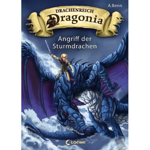 A. Benn - Drachenreich Dragonia, Band 1: Angriff der Sturmdrachen - Preis vom 03.05.2021 04:57:00 h