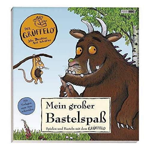 Panini - Der Grüffelo: Mein großer Bastelspaß: Spielen und Basteln mit dem Grüffelo: Spielen und Basteln mit dem Grffelo - Preis vom 27.02.2021 06:04:24 h