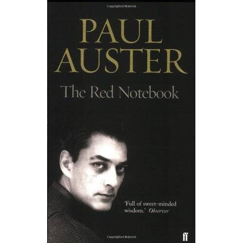 Paul Auster - The Red Notebook. - Preis vom 26.02.2021 06:01:53 h