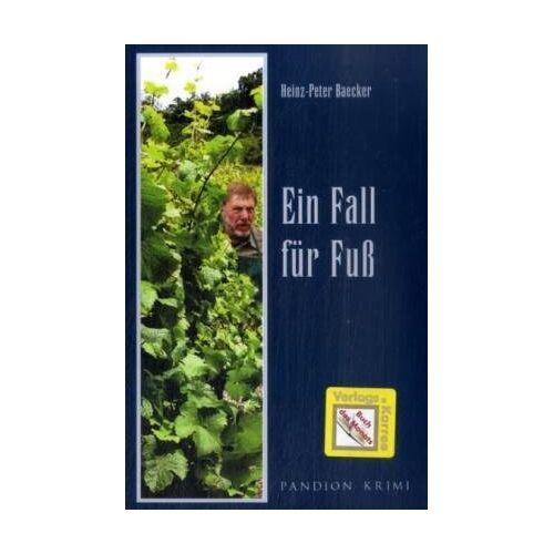 Heinz-Peter Baecker - Ein Fall für Fuß - Preis vom 20.10.2020 04:55:35 h