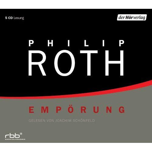 Roth Empörung - Lesung (5 CDs) - Preis vom 06.05.2021 04:54:26 h