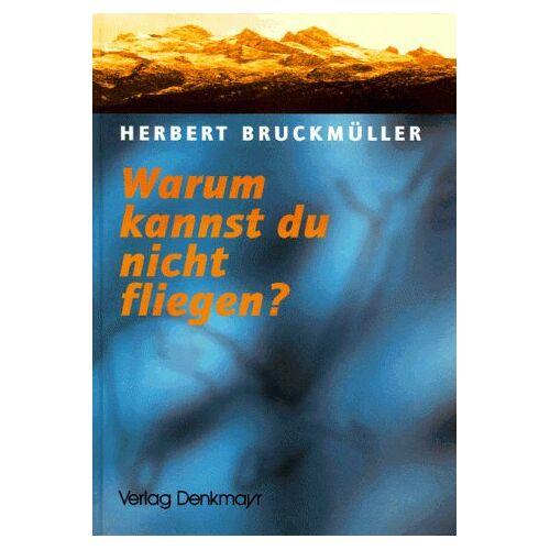 Herbert Bruckmüller - Warum kannst du nicht fliegen? Eine Odyssee im Toten Gebirge - Preis vom 03.12.2020 05:57:36 h