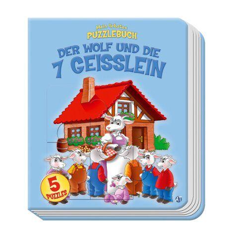 Andreas Trötsch - Puzzlebuch Märchen (7 Geisslein) - Preis vom 28.02.2021 06:03:40 h