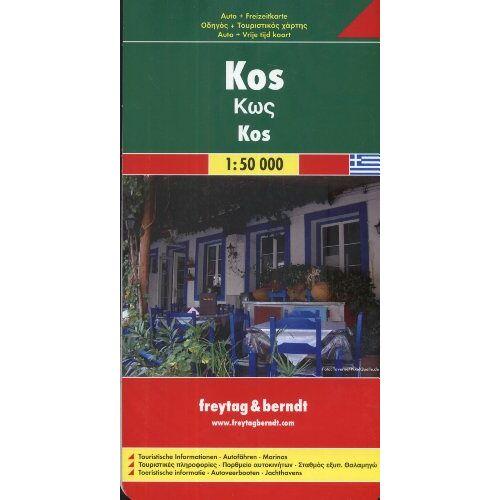 Freytag-Berndt und Artaria KG - Freytag Berndt Autokarten, Kos (Map) - Preis vom 16.01.2021 06:04:45 h