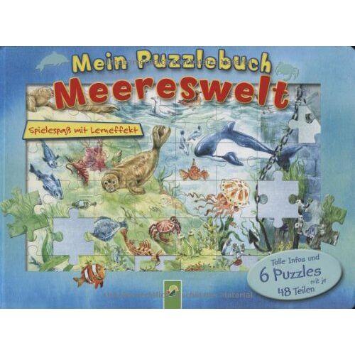 Oliver Bieber - Mein Puzzlebuch Meereswelt: Spielspass mit Lerneffekt - Preis vom 18.04.2021 04:52:10 h