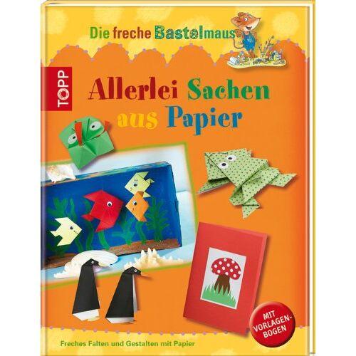 Susanne Wicke - Die freche Bastelmaus. Allerlei Sachen aus Papier: Freches Falten und Gestalten mit Papier - Preis vom 21.10.2020 04:49:09 h