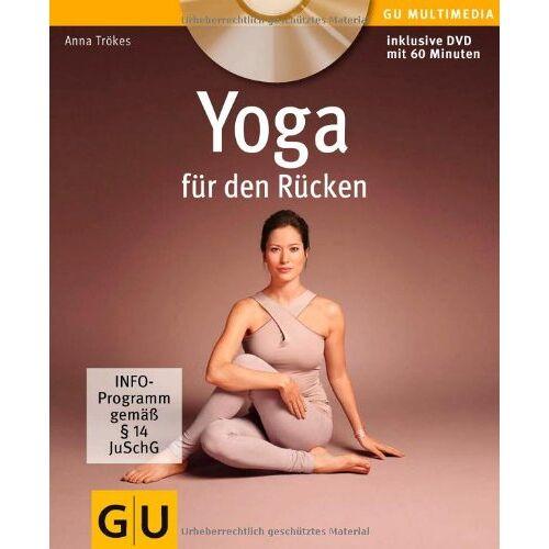 Anna Trökes - Yoga für den Rücken (mit DVD) (GU Multimedia) - Preis vom 20.10.2020 04:55:35 h