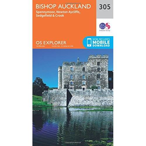 Ordnance Survey - Bishop Auckland - Spennymoor and Newtown 1 : 25 000 (OS Explorer Map) - Preis vom 21.01.2020 05:59:58 h