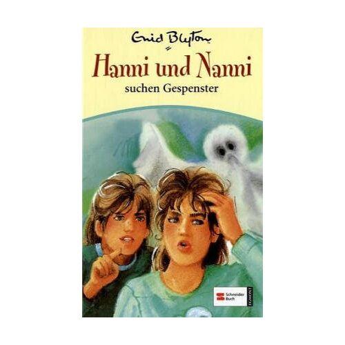 Enid Blyton - Hanni & Nanni, Band 07: Hanni und Nanni suchen Gespenster - Preis vom 18.04.2021 04:52:10 h