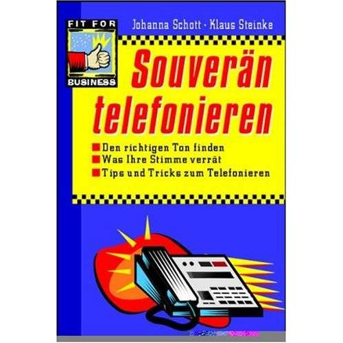 Johanna Schott - Souverän telefonieren - Preis vom 05.09.2020 04:49:05 h