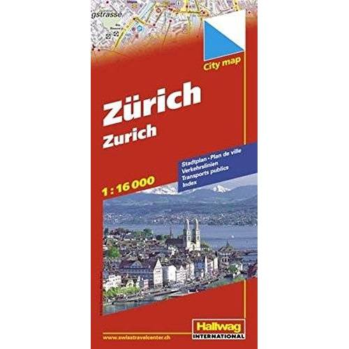 Hallwag Kümmerly+Frey AG - Hallwag City Map, Zürich (Hallwag Stadtpläne) - Preis vom 28.02.2021 06:03:40 h