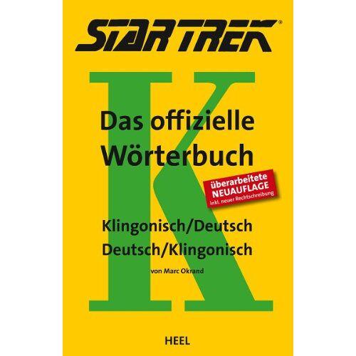 Marc STAR TREK® - Das offizielle Wörterbuch: Klingonisch - Deutsch / Deutsch - Klingonisch - Preis vom 04.09.2020 04:54:27 h