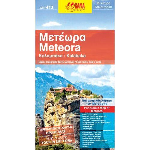 - Kalabaka / Meteora: Map and Guide - Preis vom 18.04.2021 04:52:10 h