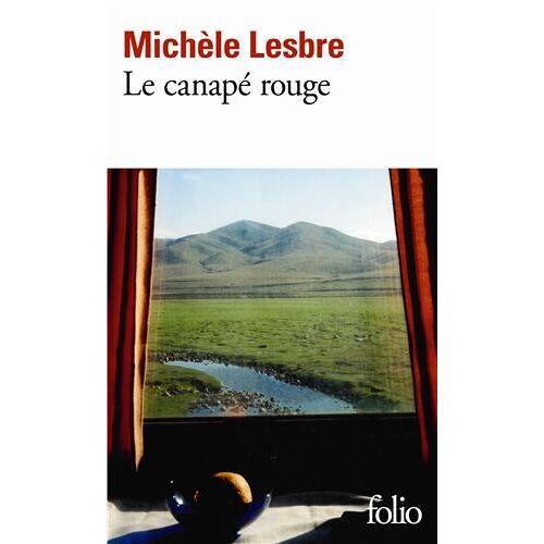 Michèle Lesbre - Le canape rouge (Folio) - Preis vom 27.02.2021 06:04:24 h