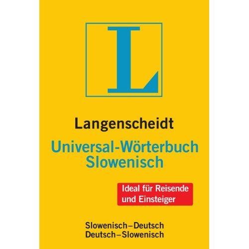 Langenscheidt, Redaktion von - Langenscheidt Universal-Wörterbuch Slowenisch: Slowenisch-Deutsch/Deutsch-Slowenisch (Langenscheidt Universal-Wörterbücher) - Preis vom 21.10.2020 04:49:09 h