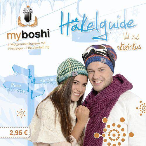 Thomas Jaenisch - myboshi Häkelguide Vol. 5.0: Skizirkus- 4 Mützenideen zum Nachhäkeln - Preis vom 29.05.2020 05:02:42 h