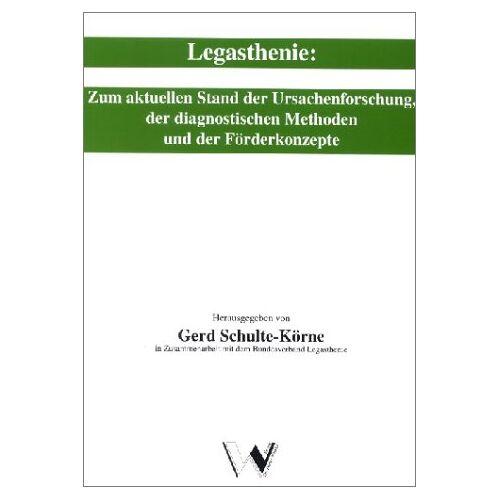 Gerd Schulte-Körne - Legasthenie - Preis vom 25.10.2020 05:48:23 h