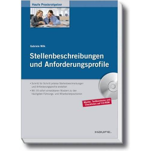 Gabriele Wilk - Stellenbeschreibungen und Anforderungsprofile - Preis vom 18.04.2021 04:52:10 h
