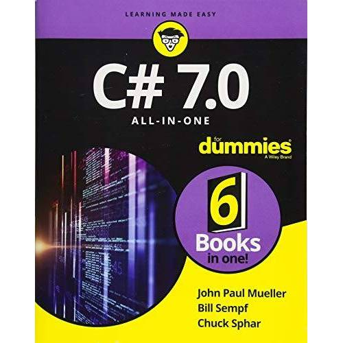 Mueller, John Paul - C# 7.0 All-in-One For Dummies - Preis vom 13.05.2021 04:51:36 h