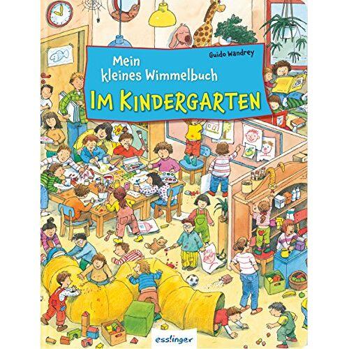 - Mein kleines Wimmelbuch: Mein kleines Wimmelbuch - Im Kindergarten - Preis vom 14.05.2021 04:51:20 h