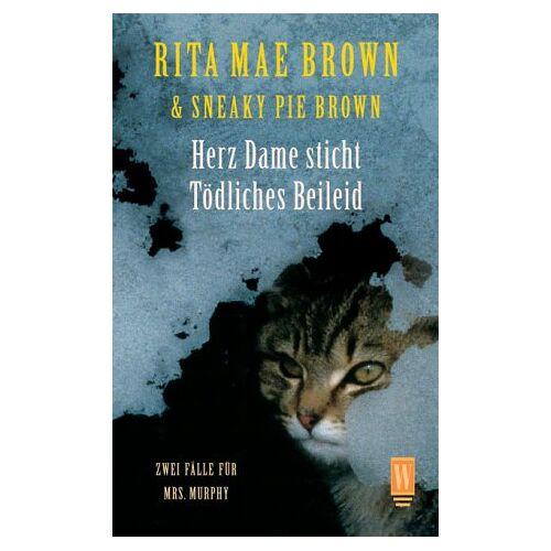 Brown, Rita Mae - Herz Dame sticht / Tödliches Beileid. 2 Fälle für Mrs. Murphy - Preis vom 11.05.2021 04:49:30 h