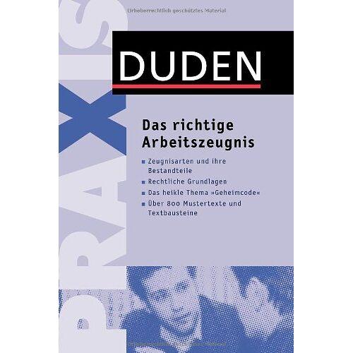 Stephanie Kaufmann - Das richtige Arbeitszeugnis - Preis vom 25.02.2021 06:08:03 h