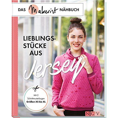 Yvonne Reidelbach - Lieblingsstücke aus Jersey: Das Makerist-Nähbuch - Schnittmusterbogen und Schnittmuster zum Download, Größen XS bis XL - Preis vom 28.02.2021 06:03:40 h