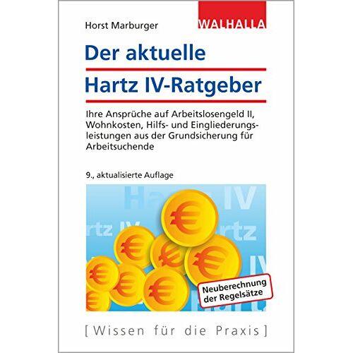 Horst Marburger - Der aktuelle Hartz IV-Ratgeber - Preis vom 17.04.2021 04:51:59 h