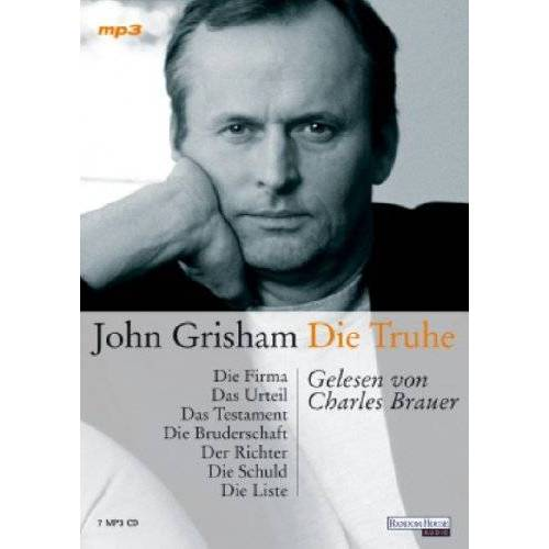 John Grisham - Die Truhe. 7 MP3-CDs - Preis vom 05.09.2020 04:49:05 h