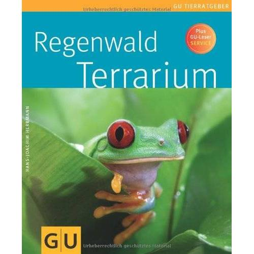Hans-Joachim Herrmann - Regenwaldterrarium (GU Tierratgeber) - Preis vom 06.05.2021 04:54:26 h