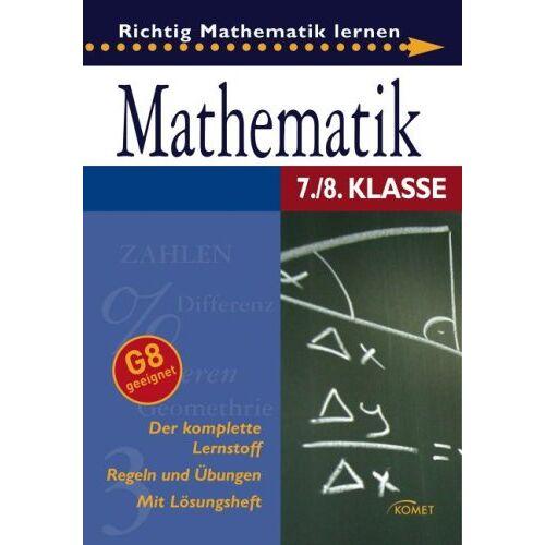 - Mathematik 7./8. Klasse: Richtig Mathematik lernen - Preis vom 13.05.2021 04:51:36 h