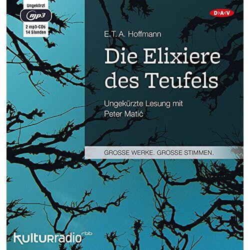 Hoffmann, E. T. A. - Die Elixiere des Teufels: Ungekürzte Lesung (2 mp3-CDs) - Preis vom 12.11.2019 06:00:11 h