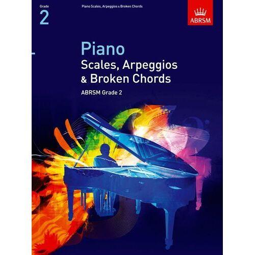 ABRSM - Piano Scales, Arpeggios & Broken Chords, Grade 2 (Abrsm Scales & Arpeggios) - Preis vom 25.01.2021 05:57:21 h