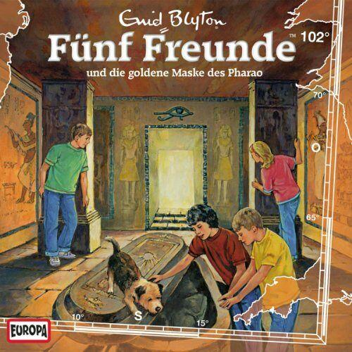 Fünf Freunde - 102/und die Goldene Maske des Pharao - Preis vom 05.09.2020 04:49:05 h