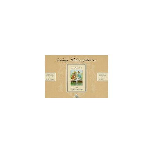 Hildegard Leiding-Heinz - Leiding Wahrsagekarten: Leiding Wahrsagekarten Set. 1 Satz Leiding Wahrsagekarten, und 1 Buch Deutung und Legetechniken: 1 Satz Leiding Wahrsagekarten, 1 Buch Leiding Wahrsagekarten - Preis vom 26.02.2021 06:01:53 h