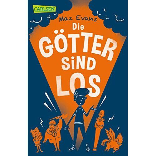 Maz Evans - Die Götter sind los (Die Chaos-Götter, Band 1) - Preis vom 10.04.2021 04:53:14 h