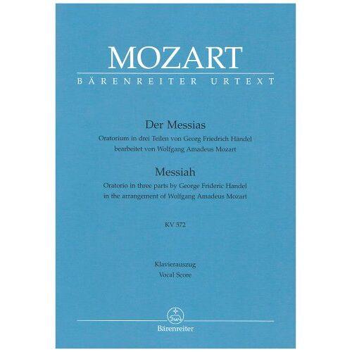 - Mozart Der Messias Klavierauszug KV 572 - Preis vom 10.05.2021 04:48:42 h