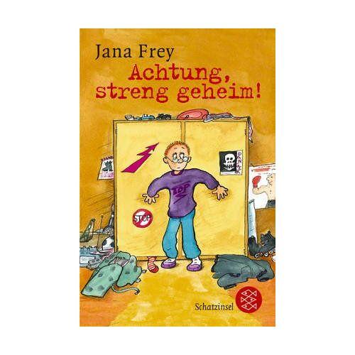 Jana Frey - Achtung, streng geheim! - Preis vom 20.10.2020 04:55:35 h