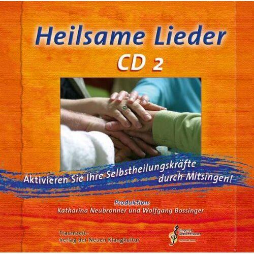 Wolfgang Bossinger - Heilsame Lieder 2, Audio-CD - Preis vom 20.10.2020 04:55:35 h