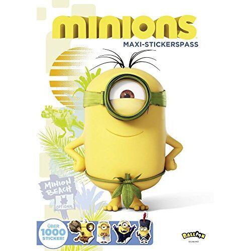 - Minions - Maxi-Stickerspaß - Preis vom 16.05.2021 04:43:40 h