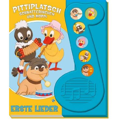 - Soundbuch Pittiplatsch Schnatterinchen und Moppi Erste Lieder - Preis vom 21.10.2020 04:49:09 h