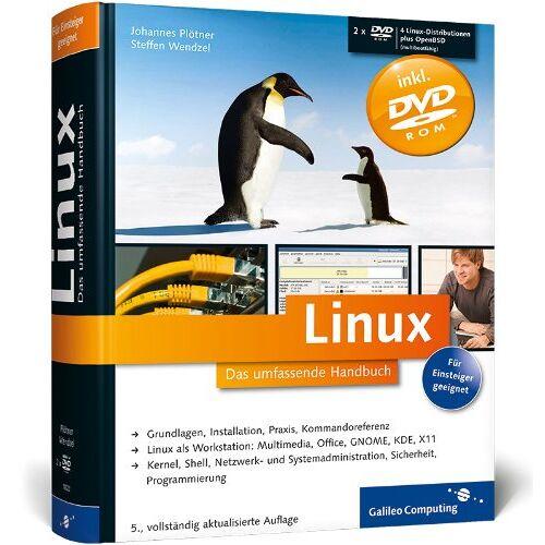 Johannes Plötner - Linux: Das umfassende Handbuch (Galileo Computing) - Preis vom 15.04.2021 04:51:42 h