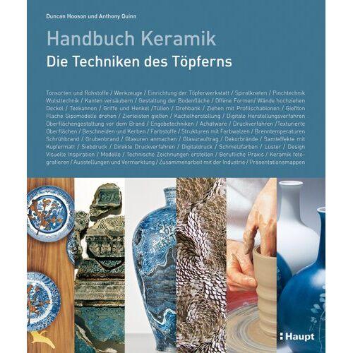 Duncan Hooson - Handbuch Keramik: Die Techniken des Töpferns - Preis vom 21.01.2020 05:59:58 h